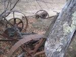 antique mower