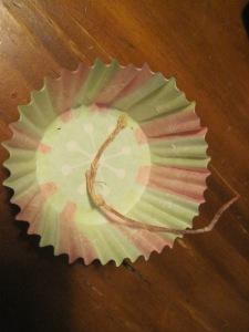 pine cone firestarters in muffin cups